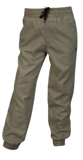 Hurley - SALT WATER WASHED TAPERED JOGGING PANT (KHAKI) - Size 6