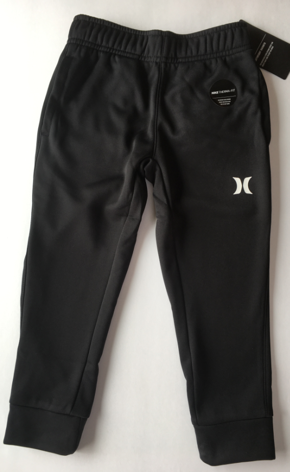 Hurley - THERMA FLEECE FIT JOGGERS (BLACK) Youth Sizes M-XL