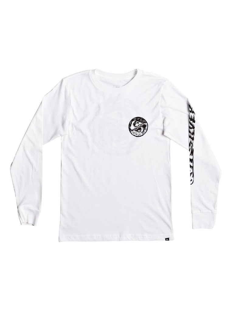 Quiksilver - BAD VISION LONG SLEEVE TEE Size 2-7
