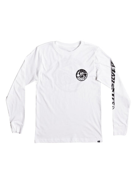 Quiksilver - BAD VISION LONG SLEEVE TEE Size 2-5