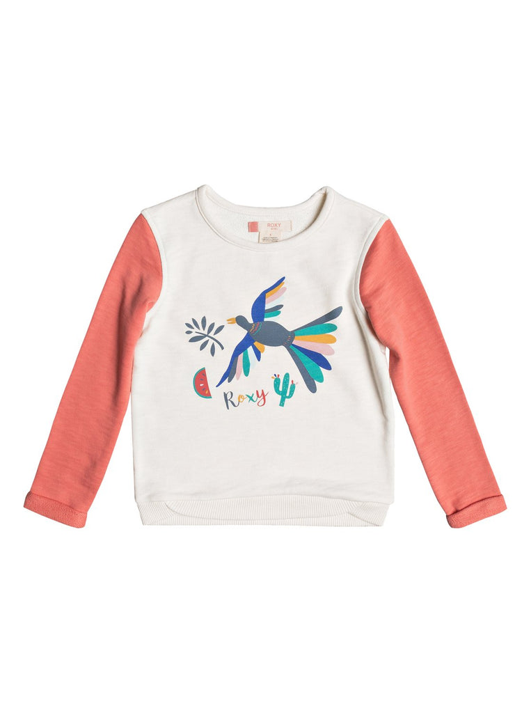 Roxy - PULLOVER SWEATSHIRT GONNA WIN BIRDY BIRD - Size 3