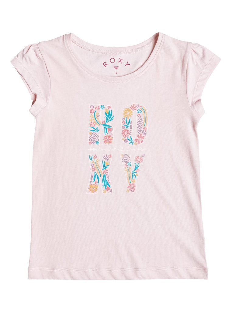Roxy Tee - Rain or Shine Flower Power