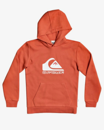 Quiksilver - BIG LOGO HOODIE (CHILI) - Youth Sizes S-M