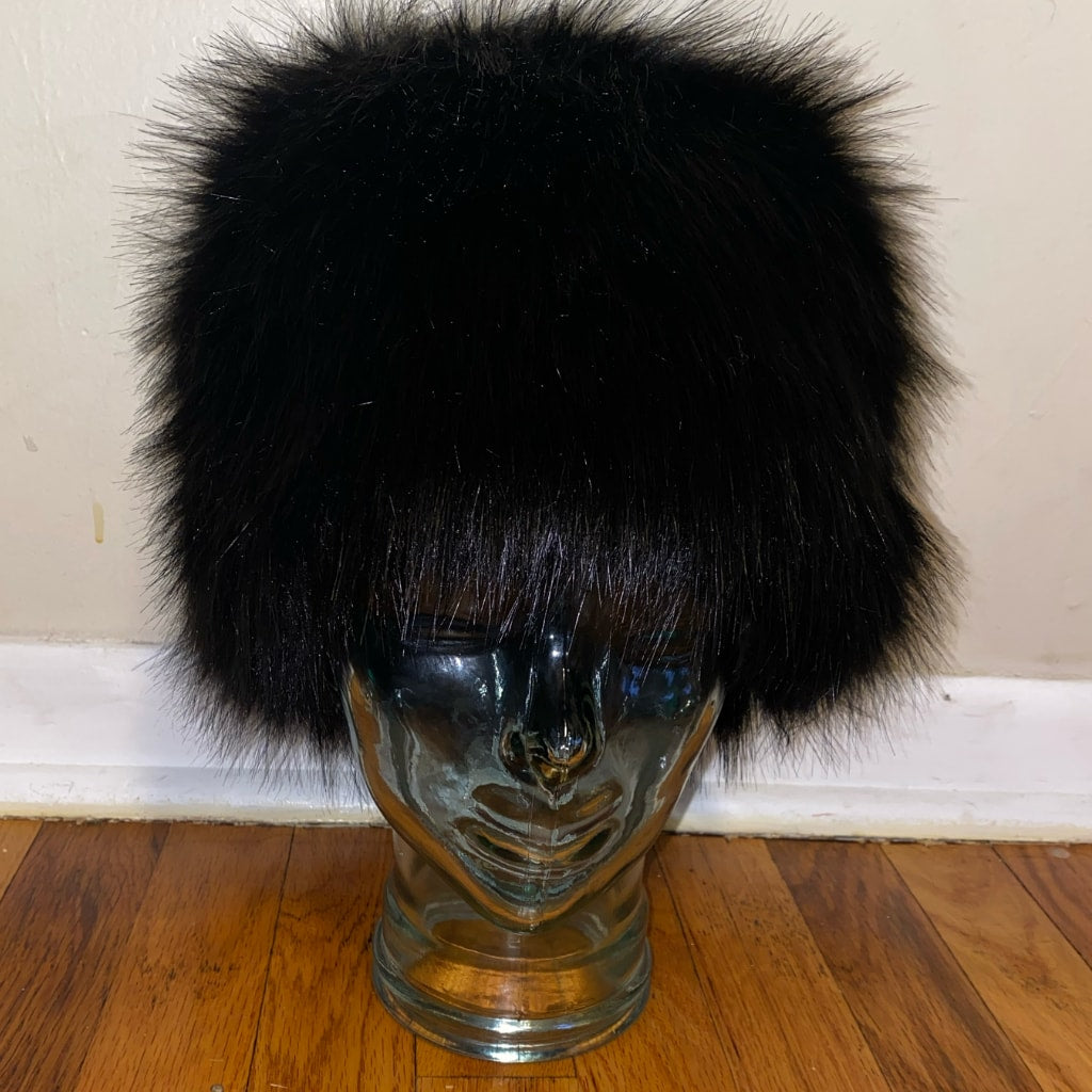 Black Cossack Hat