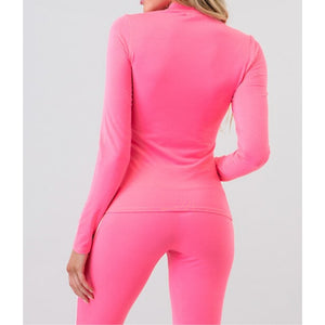 Pink Athletic Outfit