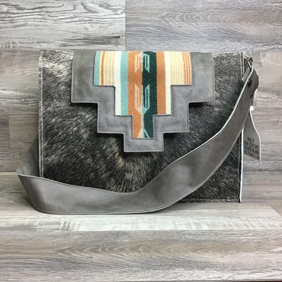 Hybrid Tote -This Hybrid Tote is a part of our Specialty Collection - made with genuine Pendleton® fabric inlay flap - long shoulder strap - #13138 - sk