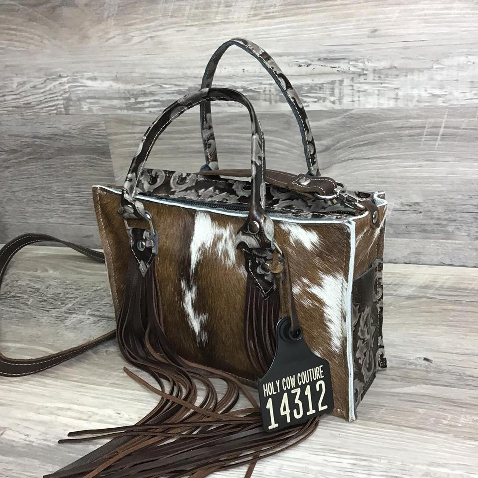 Itty Bitty Tote with Handle Fringe - #14312 sk