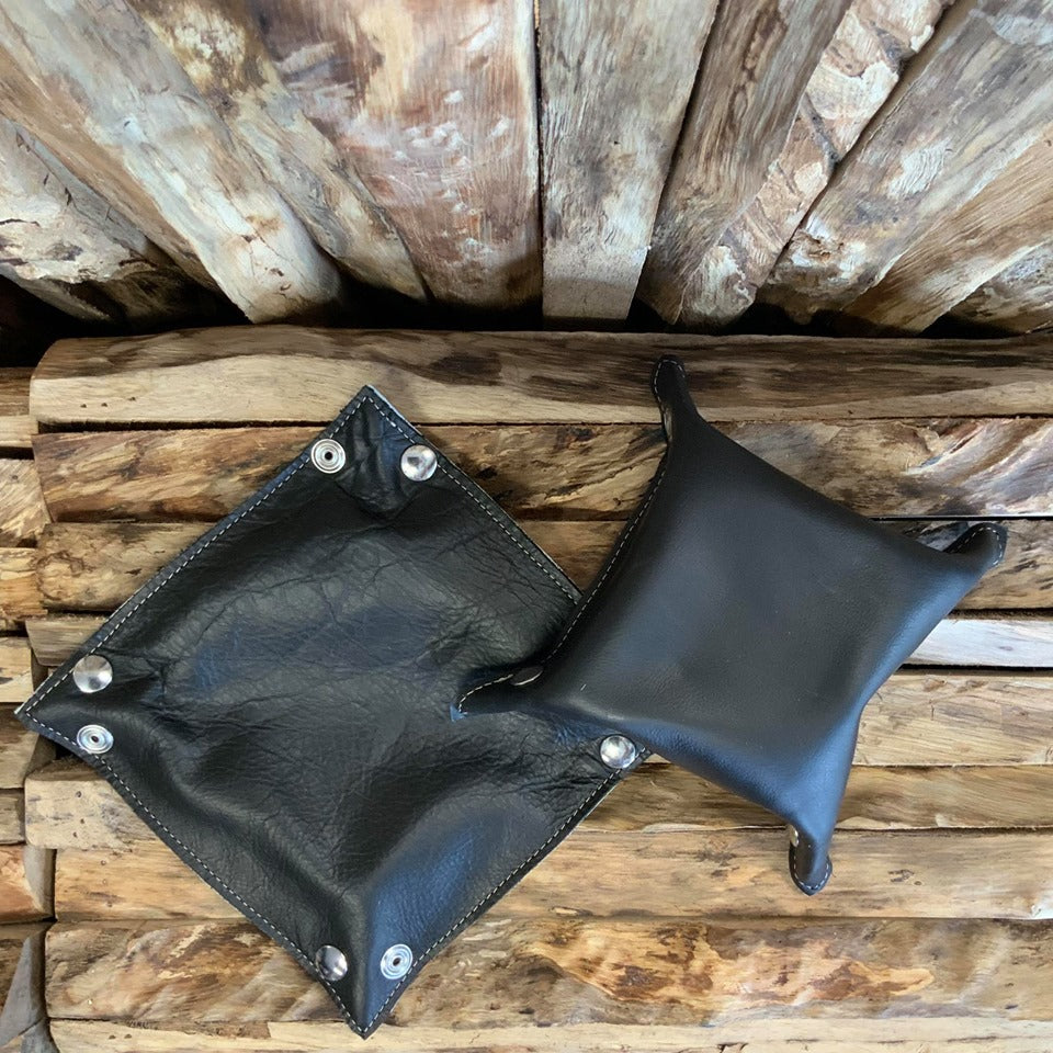 Cowhide Snap Trays - Small