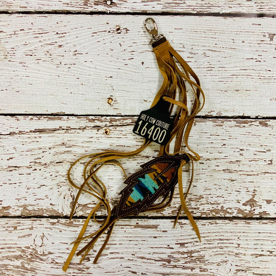Feather Purse Charm - #16400