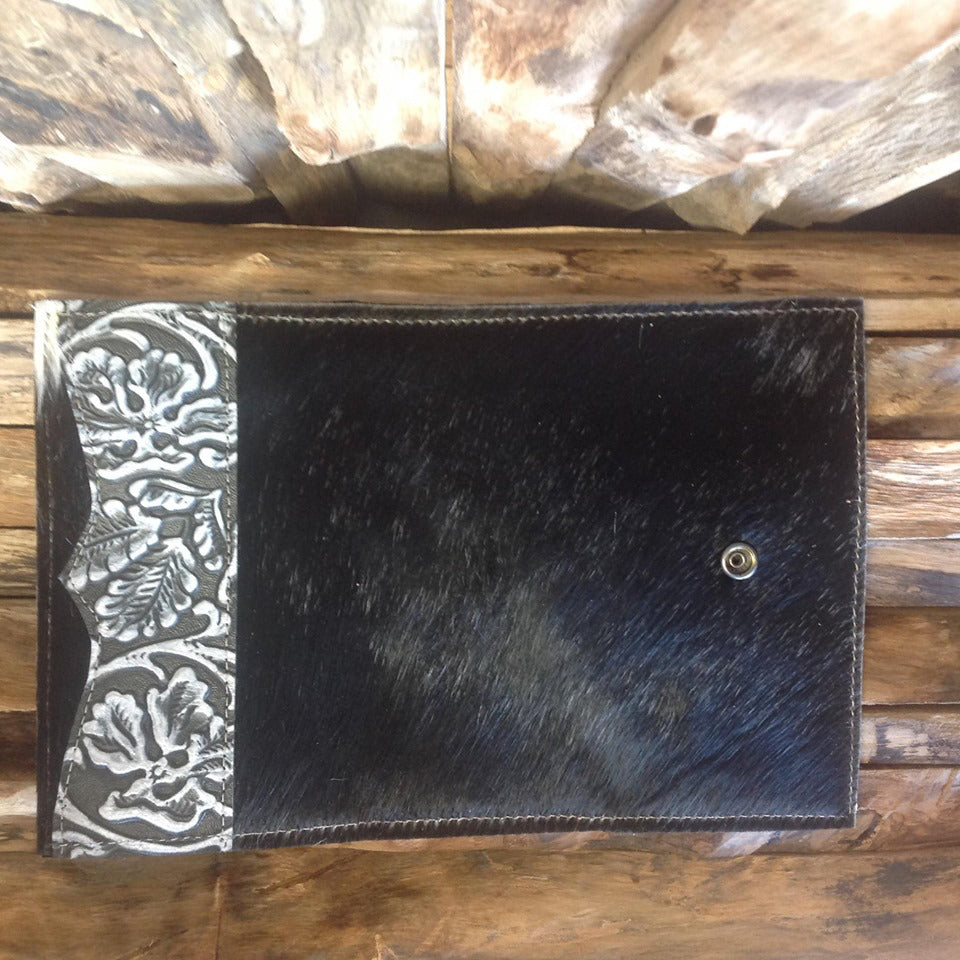 Bandit Wallet with embossed leather #1329
