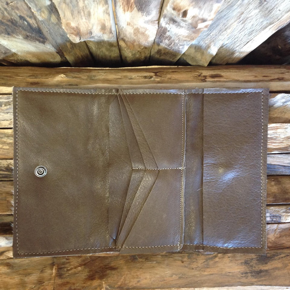 Bandit Wallet with Embossed Leather #1338