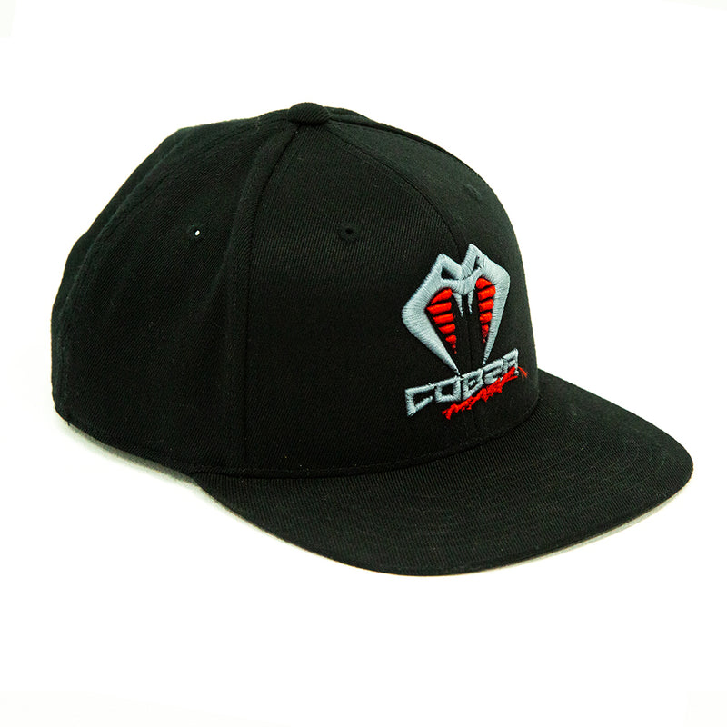 COBRA MASK - Snap Back Hat (Black)