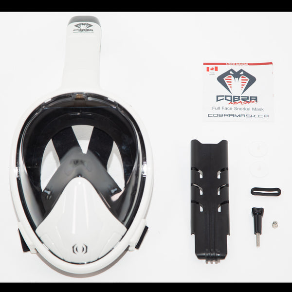 Cobra Mask v4.0 - STORMTRØØPER - Full Face Snorkel Mask