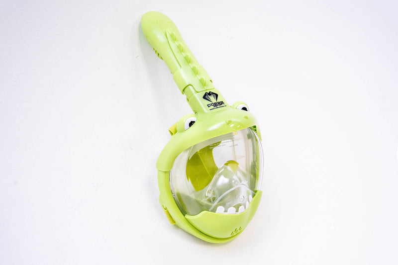 Cobra Mask (Kids Edition) v2.5 - FROGGY EDITION - Kids Full Face Snorkel Mask