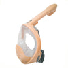 Cobra Mask (Kids Edition) v2.0 - ROSE - Kids Full Face Snorkel Mask
