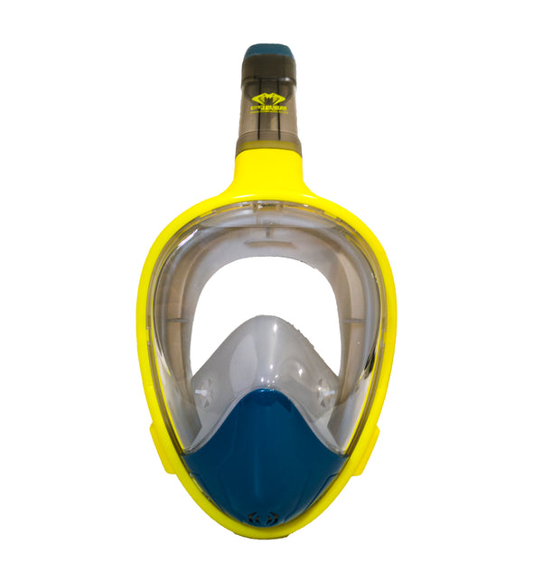 Cobra Mask v4.0 - HIGHVIZ - Full Face Snorkel Mask