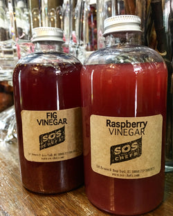 Popular Summer Items! RASPBERRY AND FIG VINEGAR!