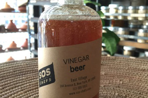 Especially for Dad, SOS Chef's Beer Vinegar!