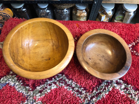 Wooden Server Bowls