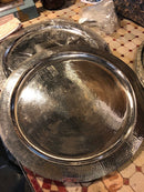 Silver Trays, round