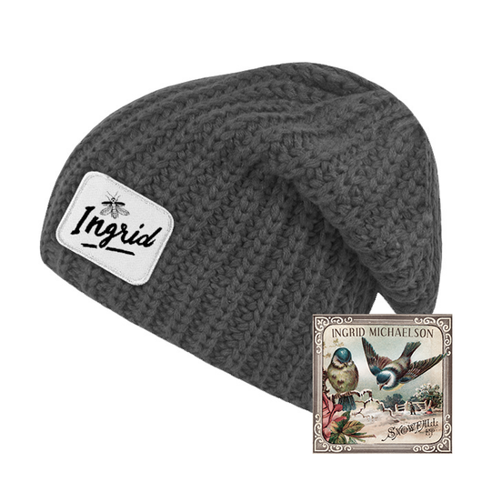 Ingrid Slouch Beanie + Snowfall EP Digital Download