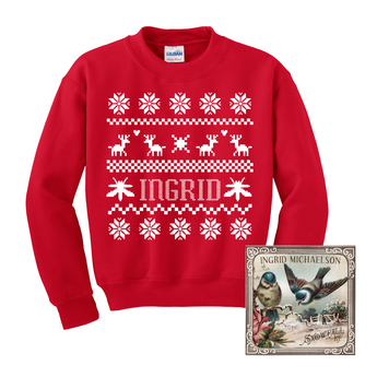 Ingrid Ugly Christmas Sweatshirt + Snowfall EP Digital Download