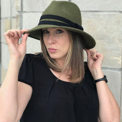 Nixon & Co Boutique - olive hat