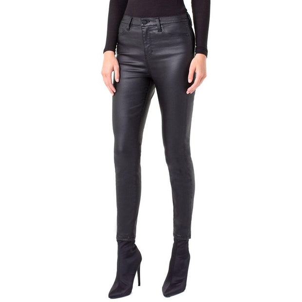 Black Glazed Ankle Skinny Pant - Nixon & Co Boutique