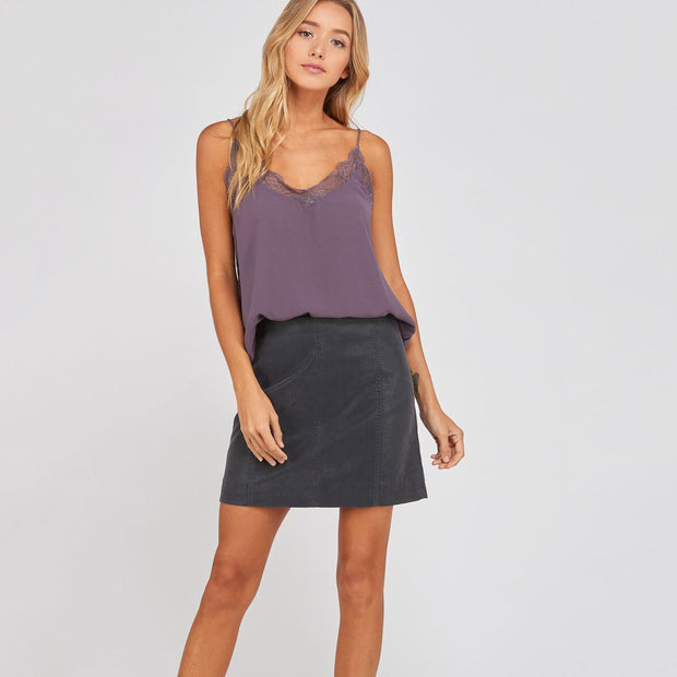 Faded Black Skirt - Nixon & Co Boutique