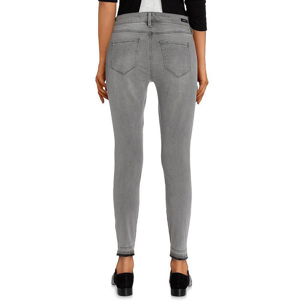 Grey Raw Ankle Skinny Pants - Nixon & Co Boutique