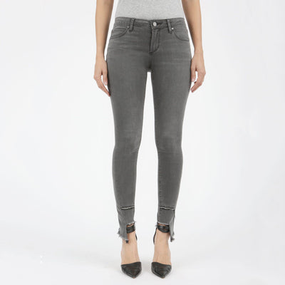 Grey Torn Edge Hem Jean - Nixon & Co Boutique