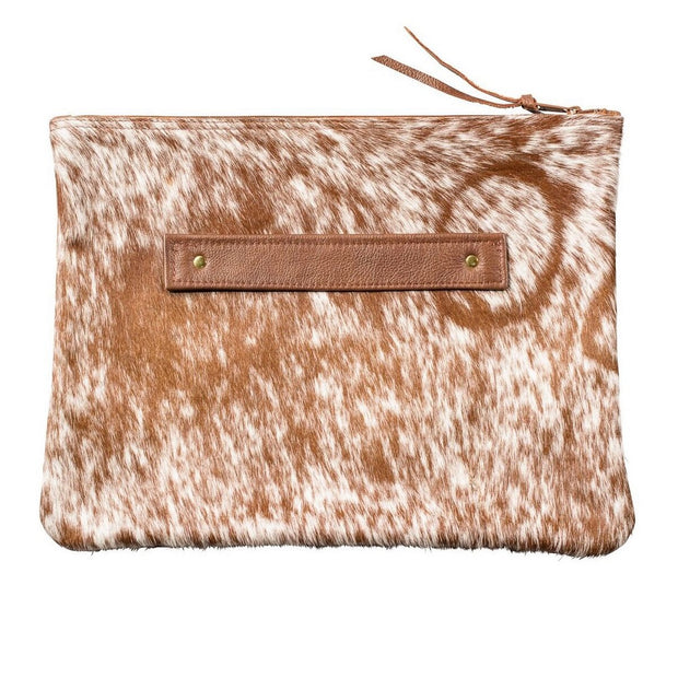 Large Cowhide Clutch - Nixon & Co Boutique