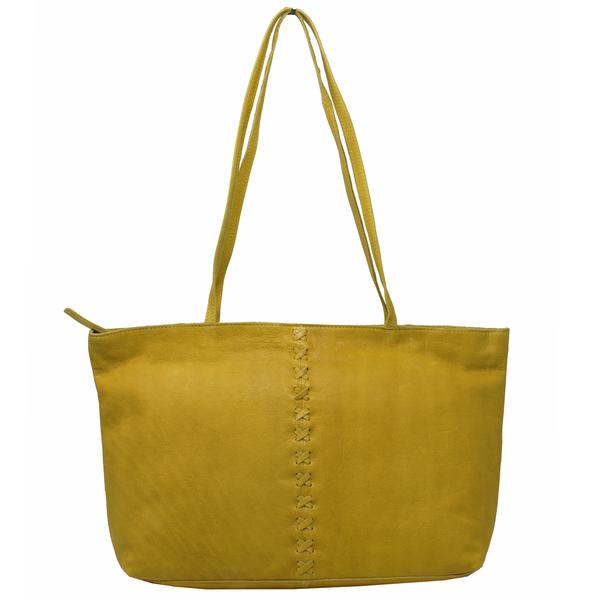 Mar Mustard Stitch Bag - Nixon & Co Boutique