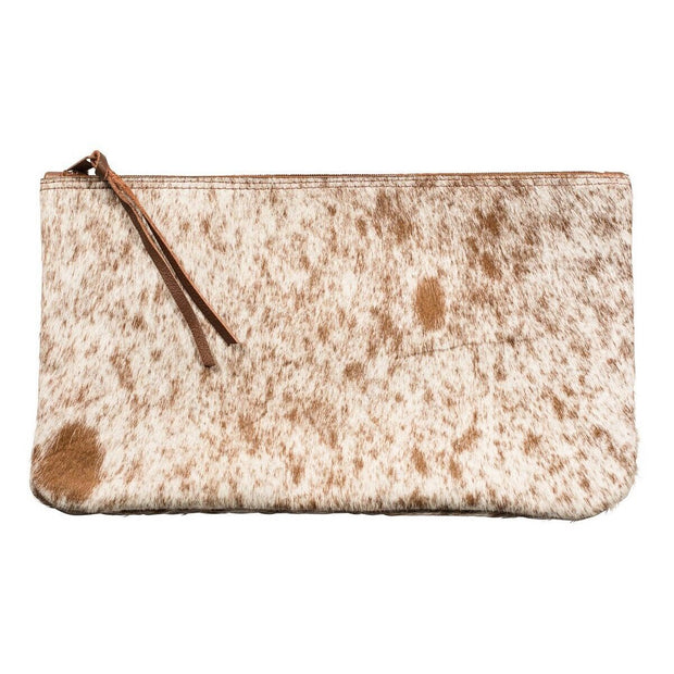 Cowhide Clutch - Nixon & Co Boutique