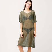Moss Crochet Knit Dress - Nixon & Co Boutique