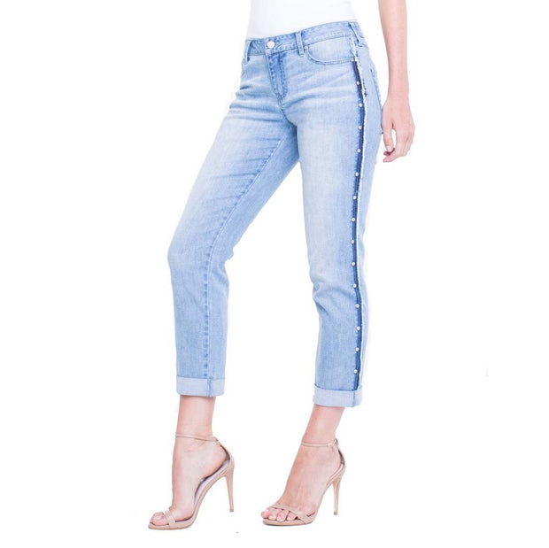 Stud Slim Crop Jean - Nixon & Co Boutique