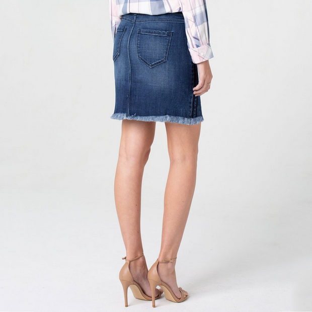Raw Hem Skirt - Nixon & Co Boutique