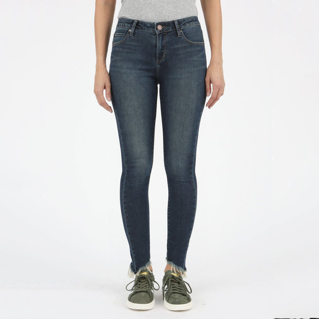 Skinny Angled Hem Jean - Nixon & Co Boutique