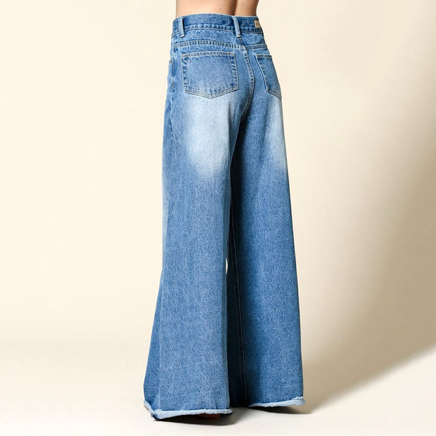 Super Wide Jeans - Nixon & Co Boutique