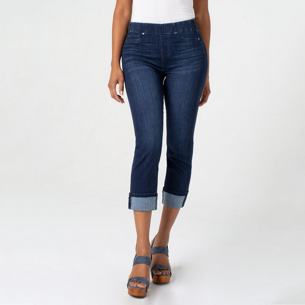 Chloe Wide Cuff Crop Jeans - Nixon & Co Boutique