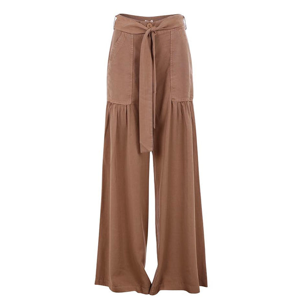 Wide Leg Pant W/Tie Belt - Nixon & Co Boutique