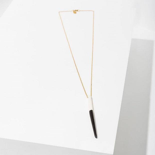 Araya Black Necklace - Nixon & Co Boutique