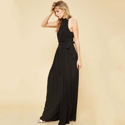 Black Halter Jumpsuit - Nixon & Co Boutique