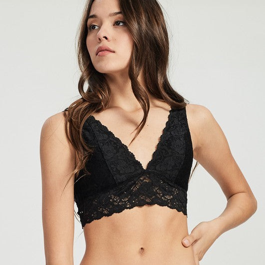 Busty Black Bralette - Nixon & Co Boutique