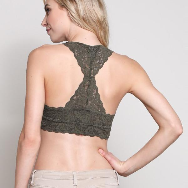 Scalloped Lace Bralette - Nixon & Co Boutique