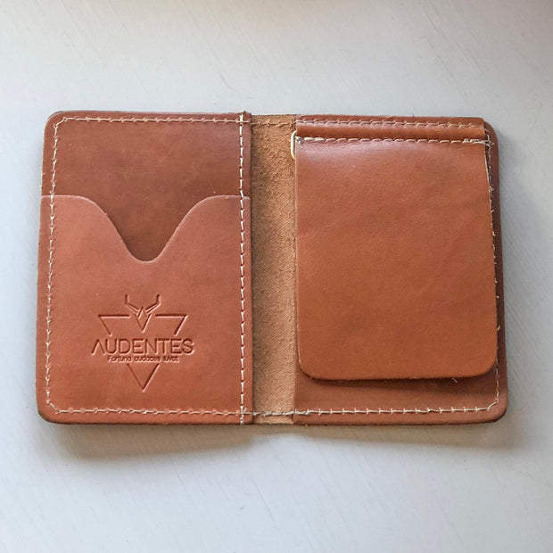 Brown Leather Wallet - Nixon & Co Boutique