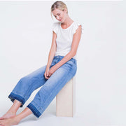 Released Hem Wide Leg Crop Jean - Nixon & Co Boutique