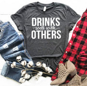 Drinks Well With Others Graphic Tee - Nixon & Co Boutique