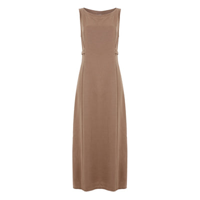 Olive Belted Maxi Dress - Nixon & Co Boutique