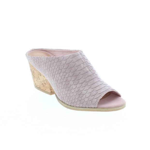 Coco Blush Peep Toe Mule - Nixon & Co Boutique
